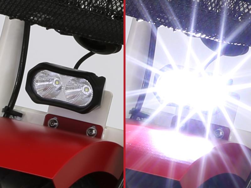 LED-Frontstrahler