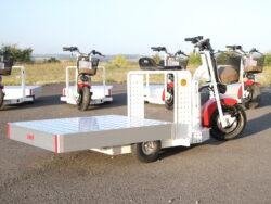 EuroScooter mit großer Ladefläche