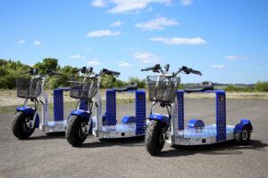EuroScooter in blau